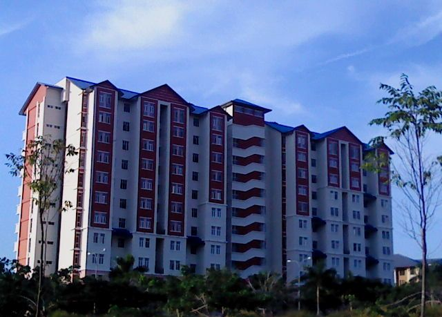 NEW 10 STOREYS HOSTEL BUILDING...INSIDE CAMPUS